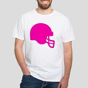 HELMET PINK White T-Shirt