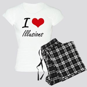 I love Illusions Women's Light Pajamas