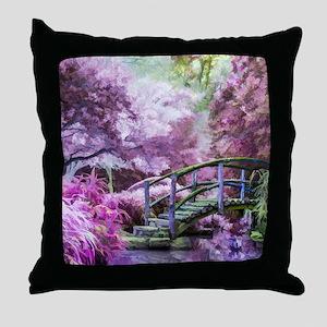 Bridge to Fairyland Throw Pillow