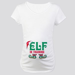 Elf In Training Maternity T-Shirt
