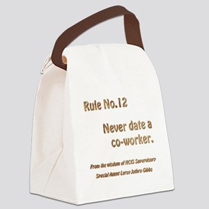 Rule No. 12 Canvas Lunch Bag