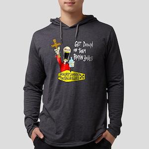 PrayinBones-3black Long Sleeve T-Shirt