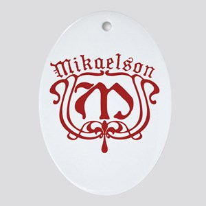 The Originals Mikaelson M Oval Ornament