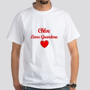 Chloe Loves Grandma T-Shirt