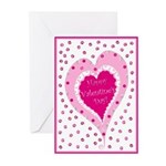 Frilly Valentine Cards (10 Pk)
