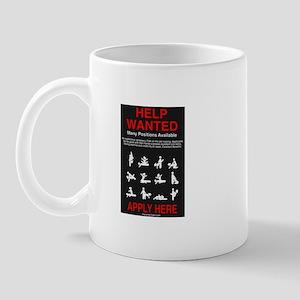 HELP WANTED... Apply Mug