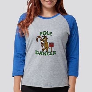 Funny Dancer Christmas Reindeer Pun Long Sleeve T-