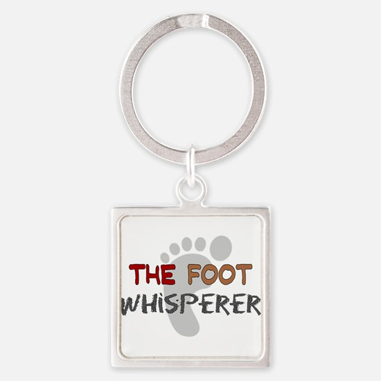 Foot doctor Square Keychain