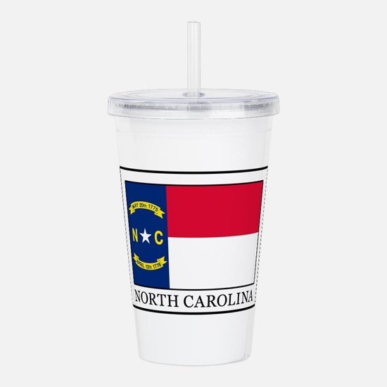 North Carolina Acrylic Double-wall Tumbler