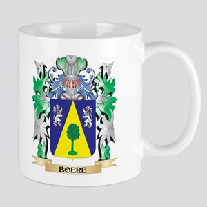 Boere Coat of Arms - Family Crest Mugs