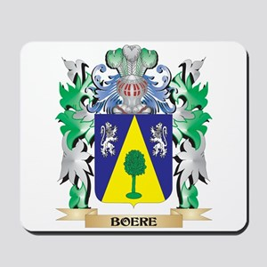 Boere Coat of Arms - Family Crest Mousepad