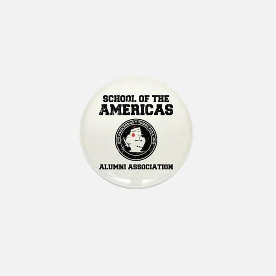 school of the americas Mini Button