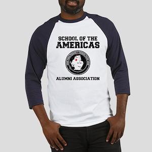 school of the americas Baseball Jersey