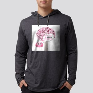 happy & alive breast cancer su Long Sleeve T-Shirt