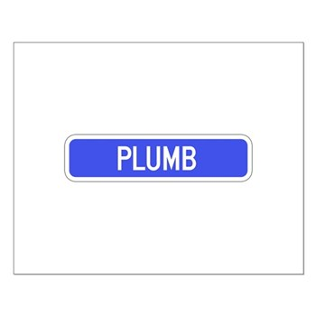 Plumb Avenue, Tribune (KS) Small Poster