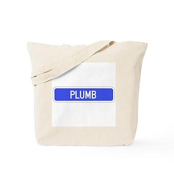 Plumb Avenue, Tribune (KS) Tote Bag