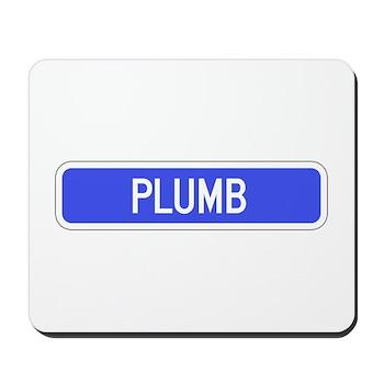 Plumb Avenue, Tribune (KS) Mousepad