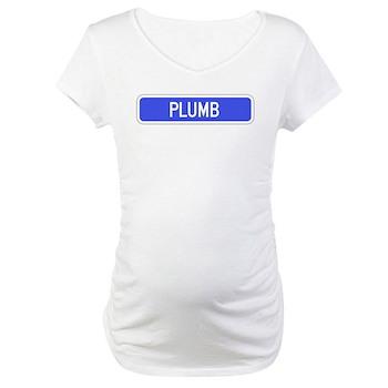 Plumb Avenue, Tribune (KS) Maternity T-Shirt