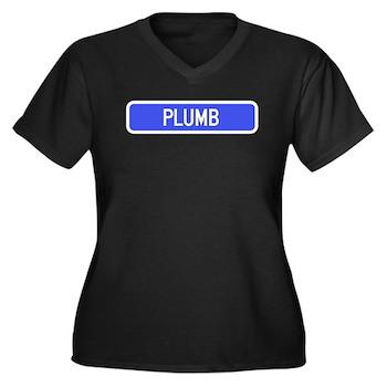 Plumb Avenue, Tribune (KS) Women's Plus Size V-Nec