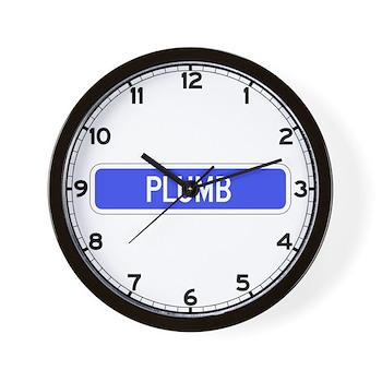 Plumb Avenue, Tribune (KS) Wall Clock