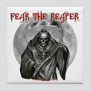 Fear The Reaper Tile Coaster