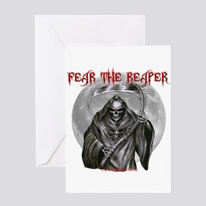 Fear The Reaper Greeting Card