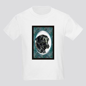 Black Lab Designer Kids T-Shirt