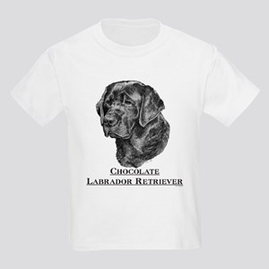 Chocolate Lab Breed Kids T-Shirt