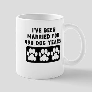 70th Anniversary Dog Years Mugs