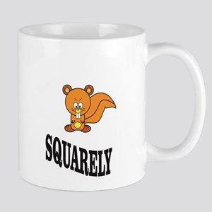 squarely squirrelly Mugs