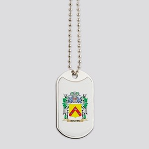 Bolton Coat of Arms - Family Crest Dog Tags