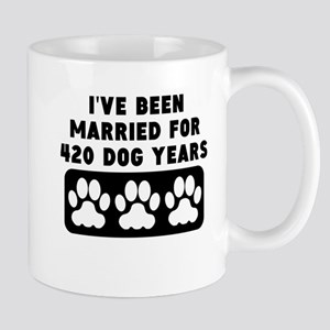 60th Anniversary Dog Years Mugs