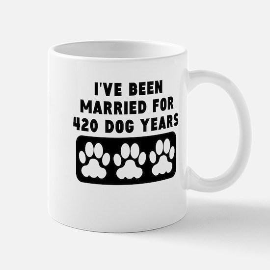 60th Anniversary Dog Years Mugs