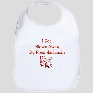 Blown Away Rosh Hashanah Bib