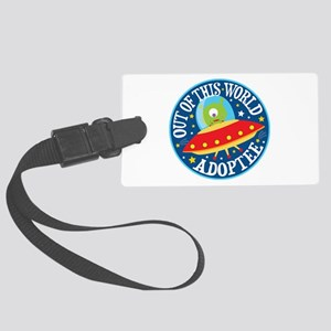 Adoptee Alien Large Luggage Tag