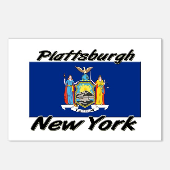 Plattsburgh New York Postcards (Package of 8)