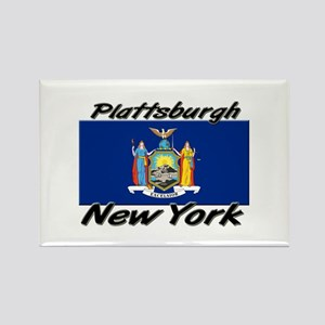 Plattsburgh New York Rectangle Magnet