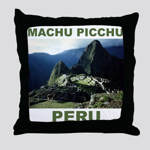 MACHU PICCHU, PERU Throw Pillow
