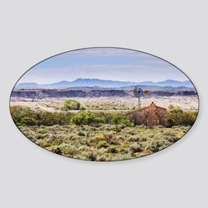 Outback South Australia (Leigh Cree Sticker (Oval)
