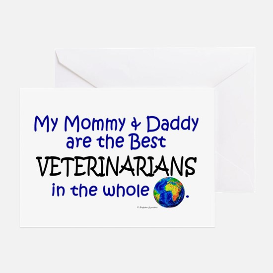 Best Veterinarians In The World Greeting Card