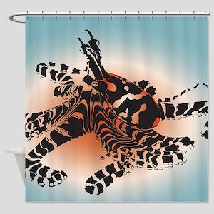 Wonderpus Shower Curtain