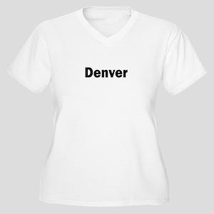 Denver Women's Plus Size V-Neck T-Shirt