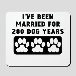 40th Anniversary Dog Years Mousepad