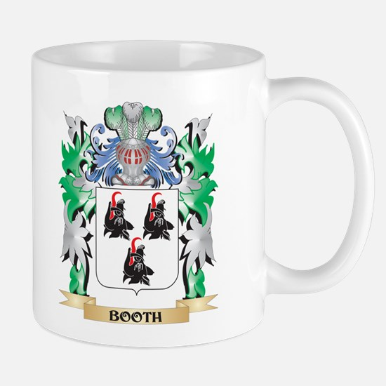 Booth Coat of Arms - Family Crest Mugs