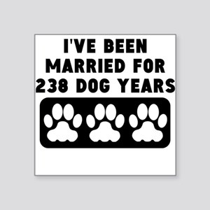 34th Anniversary Dog Years Sticker