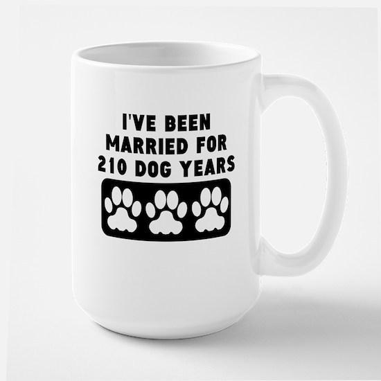 30th Anniversary Dog Years Mugs
