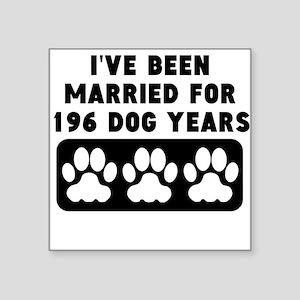 28th Anniversary Dog Years Sticker