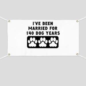 20th Anniversary Dog Years Banner