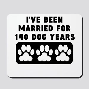 20th Anniversary Dog Years Mousepad