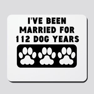 16th Anniversary Dog Years Mousepad